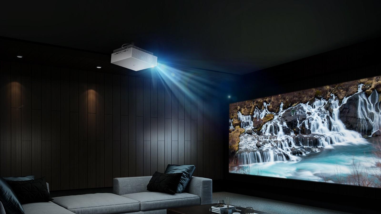 300 дюймов, 4K, 97% DCI-P3, HDR10. Представлен топовый проектор LG Cinebeam 4K UHD Laser