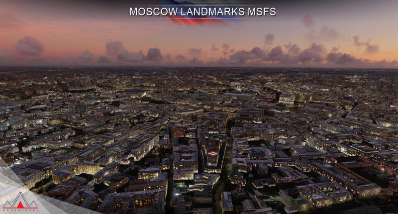 Вышло дополнение Beautiful Moscow Scenery для Microsoft Flight Simulator