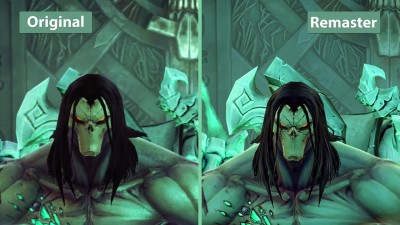 Сравнение графики в Darksiders 2 – Original vs. Deathinitive Edition