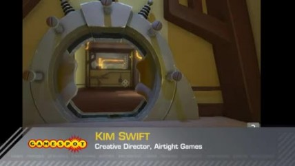 "Quantum Conundrum: ""Gameplay Demo with Kim Swift (PC, PS3, Xbox 360)"""