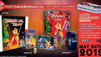 Dragon's Lair Trilogy выйдет на картриджах