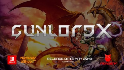 Трейлер платформера Gunlord X