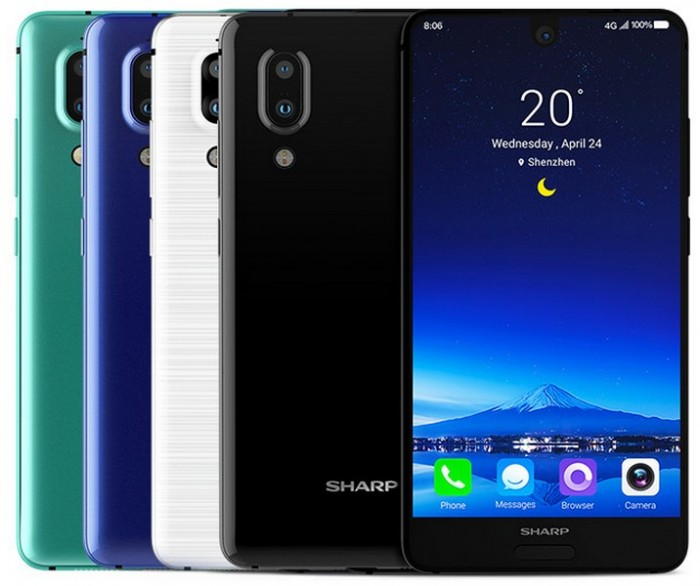 Смартфон Sharp Aquos S2 оказался достаточно доступным