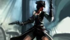 "Assassin's Creed 4: Black Flag ""Быстрое рисование арта Lady Black"""