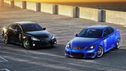 Lexus на шоу тюнинга