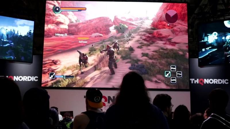 Геймплей Elex с Gamescom 2017 #2