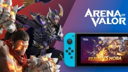 Arena of Valor выйдет на Switch 25 сентября