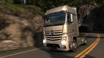 Mercedes-Benz поступление в гараж Euro Truck Simulator 2 в ближайшее время!