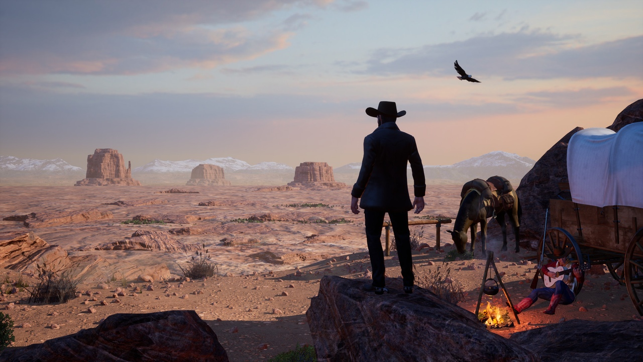 В раннем доступе состоялся выход Outlaws of the Old West