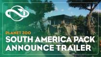 Анонсировано DLC Южная Америка для Planet Zoo