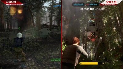 Сравнение | Star Wars Battlefront | 2004 vs. 2015 | На ультра | PC | Часть 2