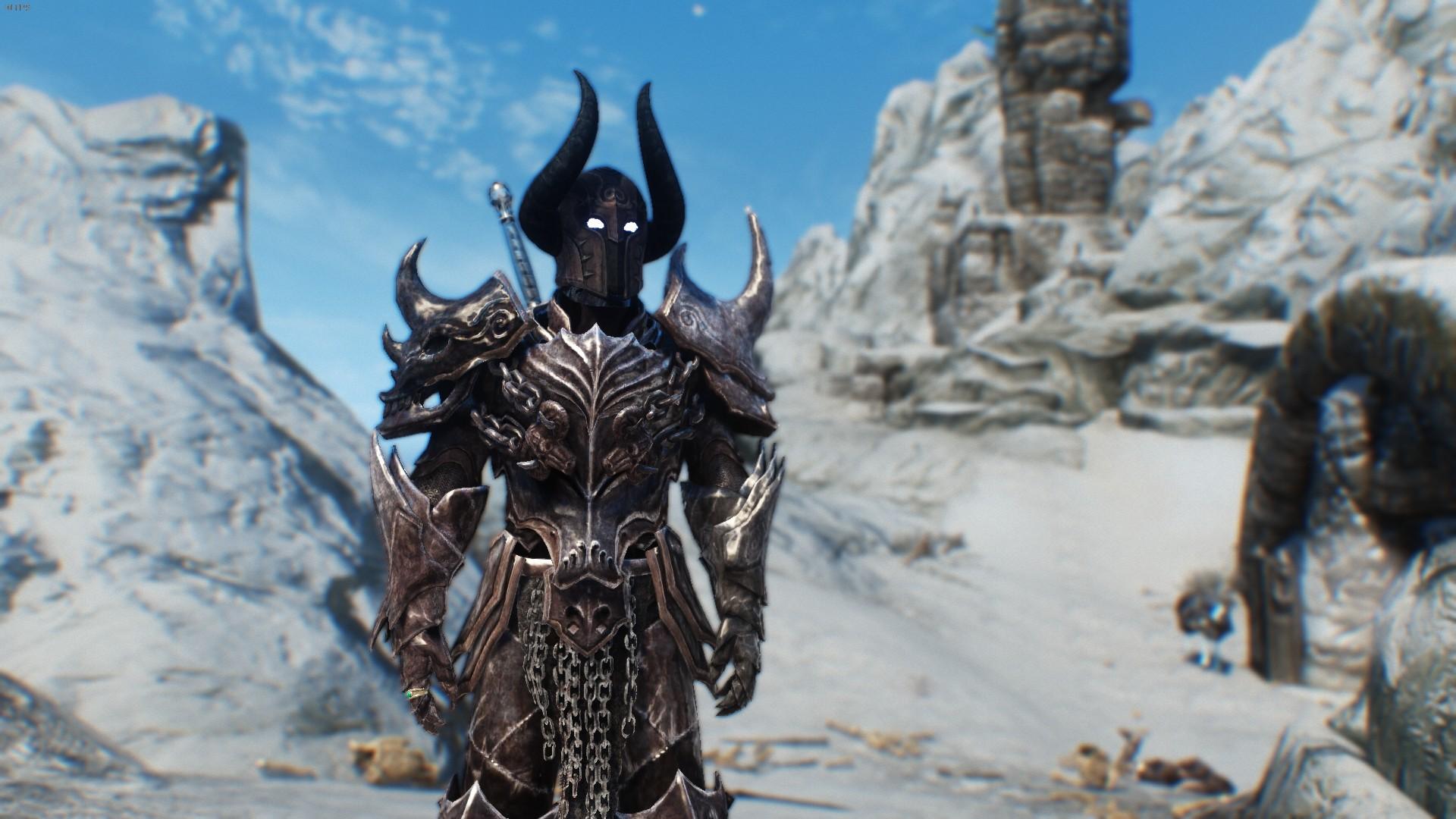 Скачать мод на скайрим на рыцаря смерти