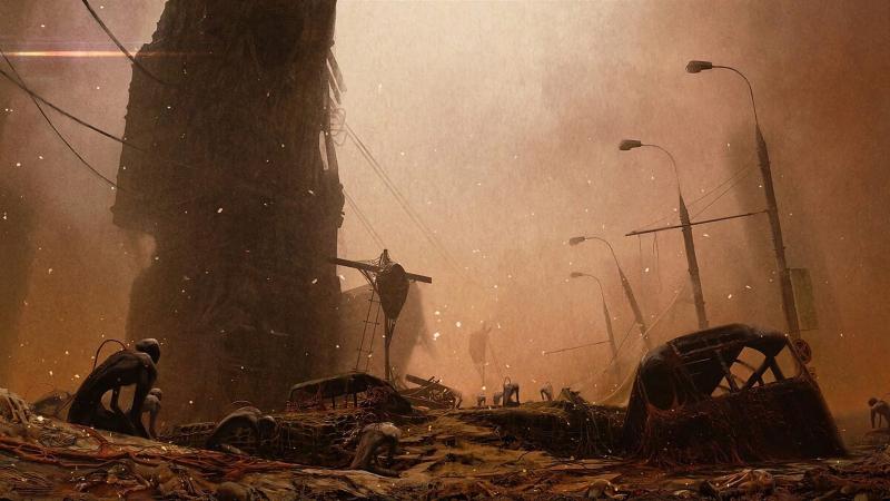 """В сети появился первый постер и несколько концепт-артов экранизации """"Метро 2033"""""""