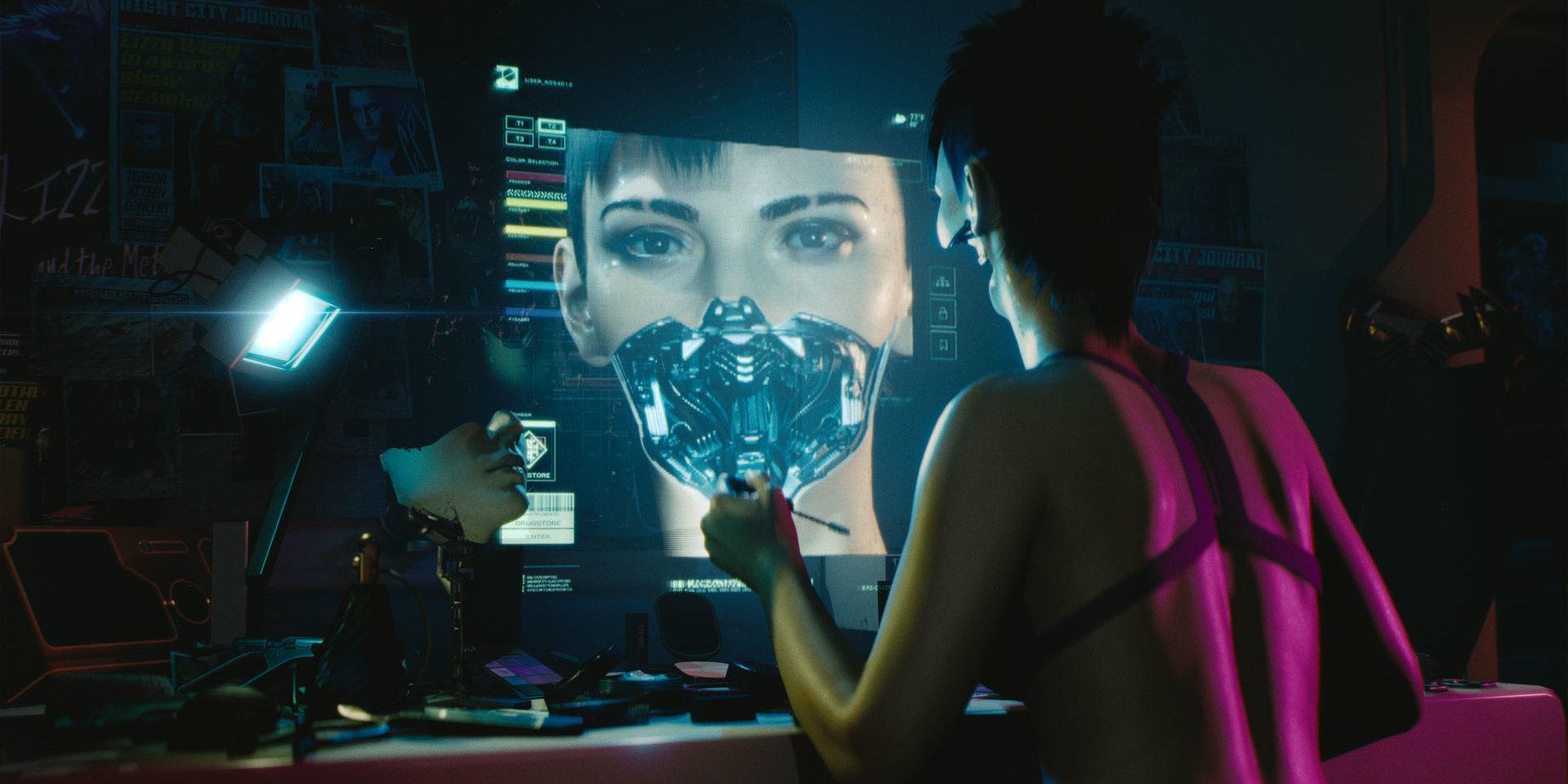 В Cyberpunk 2077 можно будет создать персонажа-трансгендера