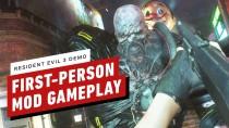 Теперь вы можете играть в Resident Evil 3 Remake в режиме от первого лица