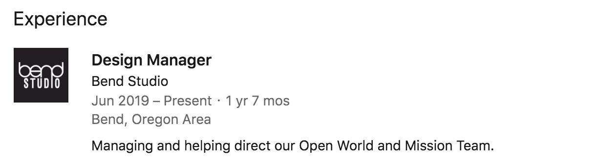 Слух: новый проект Sony Bend Studio - экшен-приключение в открытом мире с освещением нового поколения