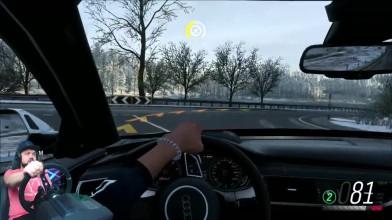 Forza Horizon 4 - шикарная зима и невероятно атмосферные уличные гонки!