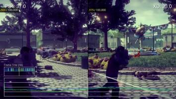 """Saints Row 4 (геймплей) """"Сравнение частоты кадров для PS4 vs Xbox One """"от Digital Foundry"""