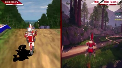 Moto Racer 2 (1998) по сравнению с Moto Racer 4 (2016) | Сравнение | PC | ULTRA