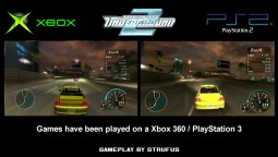 NFS Underground 2 - Графика Xbox vs.PlayStation