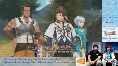 Tales of Zestiria/Symphonia - PC/PS4/PS3 [Живой стрим] Полный.