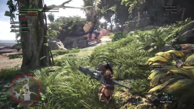 12 минут игрового процесса Monster Hunter: World