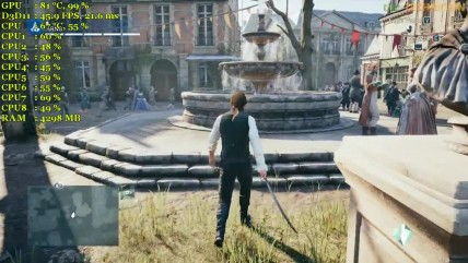 AMD RX 070 - Assassin's Creed Unity - Ultra Settings
