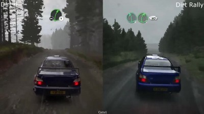 DIRT 4 vs DIRT Rall