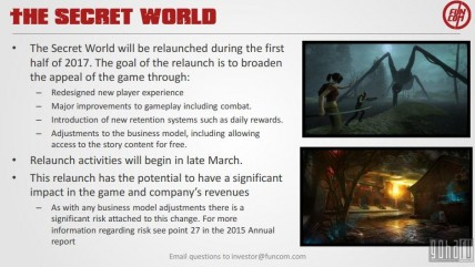 Funcom перезапустит The Secret World в 2017 году