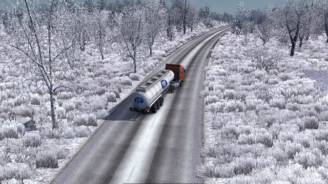 Скачать Мод На Погоду На Euro Truck Simulator 2 - фото 9
