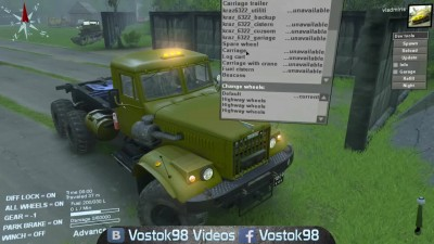 Spintires Full Version - КрАЗ 255