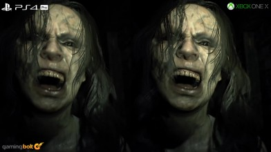 Сравнение Resident Evil 7 для PS4 Pro и Xbox One X