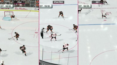 NHL 18 - Сравнение PS4 vs. PS4 Pro 4K vs. Xbox One (Candyland)