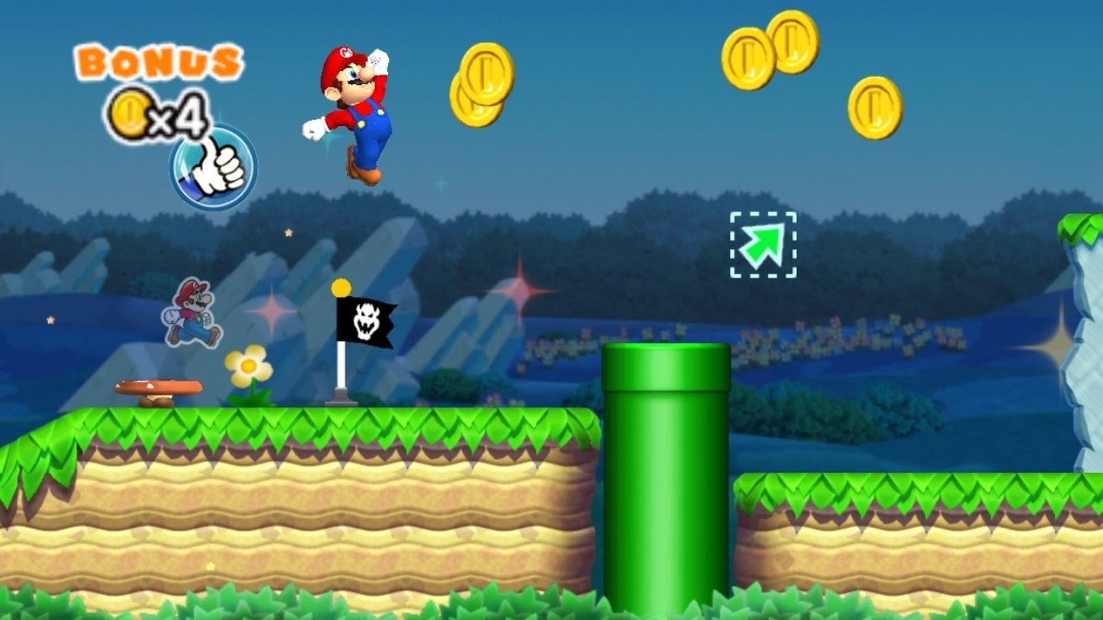 ВSuper Mario сейчас можно играть наустройствах Apple