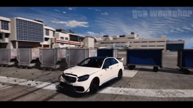 GTA 6 Графика - Mercedes E63 AMG! 2017 REDUX - Gameplay! Ультра реалистичная графика MOD pc60 FPS