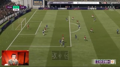 FIFA 18 - Официальный геймплей Manchester United vs Chelsea (Xbox One, PS4, PC)