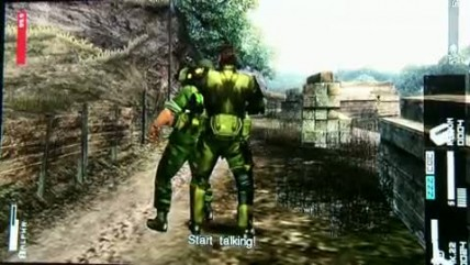 "Metal Gear Solid HD Collection ""Gameplay"""