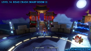 Crash Bandicoot 3 Warped - Получение трофея UFO Xing.