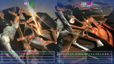 Metal Gear Rising Xbox One vs Xbox 360 (обратная совместимость) Частота кадров