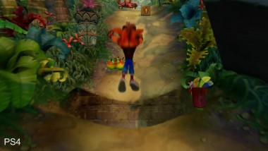 Crash Bandicoot Сравнение PS4 Remake vs PS1 (DigitalFoundry)