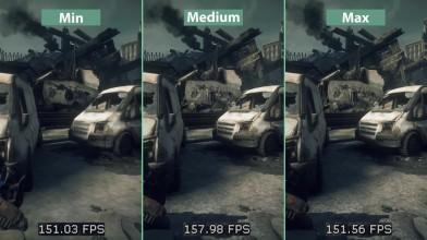 Gears of War Ultimate Edition - Сравнение графики PC Min vs. Medium vs. Max (Candyland)