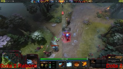 Dota 2 Reborn vs Dota 2 - FX 6300 - GTX 760 (FPS Test)
