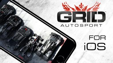 GRID Autosport выйдет на iOS на следующей неделе