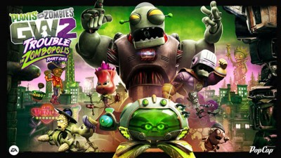 DLC Trouble in Zombopolis для PvsZ: Garden Warfare 2 выйдет летом