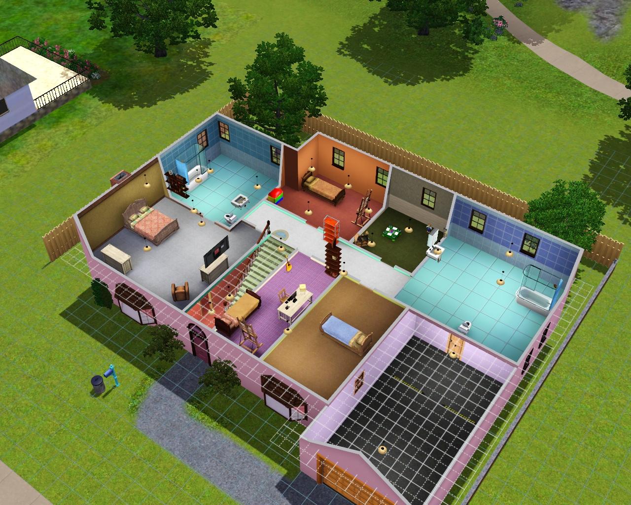 Картинки домов в игре симс