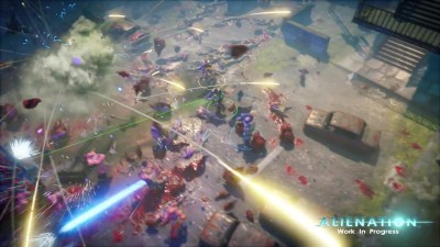 "Alienation ""Геймплейный трейлер Pre-alpha Co-op Footage (60fps)"""