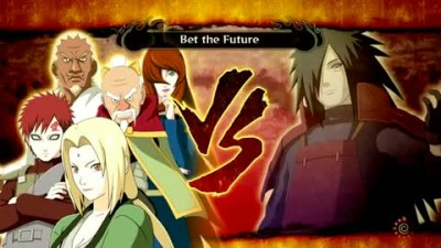 "Naruto Shippuden: Ultimate Ninja Storm 3 ""Five Kage Vs Uchiha Madara"""
