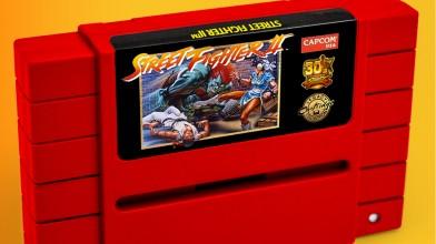 Capcom объявила о выпуске юбилейных картриджей Street Fighter II для SNES