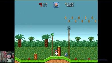 Super Mario Bros. X (v. 2.0) - The Invasion 2 - 2 уровень - Алёша одобряэ (прохождение на русском)