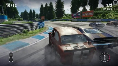 "Next Car Game ""Demo v3 геймплей. PC"""